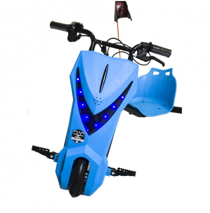 Scooter Boogie Drift Pro Bluetooth 15km/h 3 Veloc. + Llave Azul