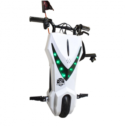 Scooter Boogie Drift Pro Bluetooth 15km/h 3 Veloc. + Llave Blanco