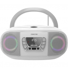 Radio CD USB BOOM-GO-B Fonestar Blanco