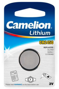 Boton Litio CR2450 3V (1 pcs) Camelion