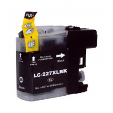 Cart. Brother LC-227/225 XL Negro 28ml (reman.)