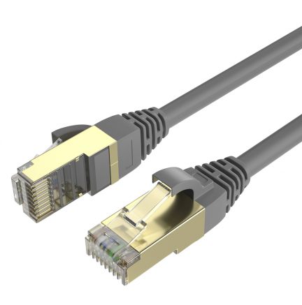 Cable Ethernet CAT7 RJ45 F/STP 15m Max Connection