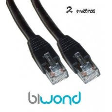Cable Ethernet 2m Cat 6 BIWOND