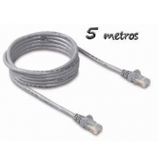 Cable Ethernet 5m Cat5e