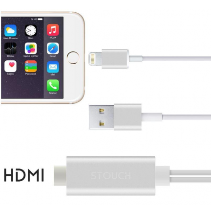 Cable Lightning 8 Pin a HDMI Ipad/Iphone