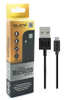 Cable USB a Micro USB 1.2M Serie Gold Biwond