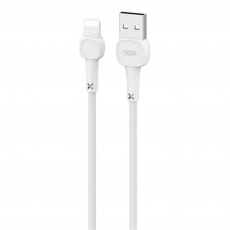 Cable NB132 Carga Rápida USB - Lightning, 2A, 1 m, Blanco XO