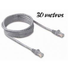 Cable Ethernet 30m Cat5e
