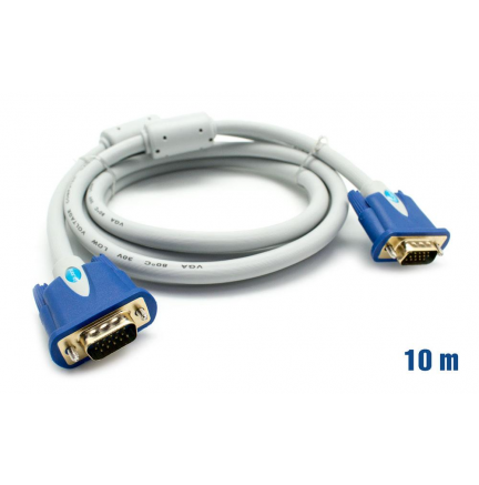 Cable VGA 30AWG M/M 10m BIWOND