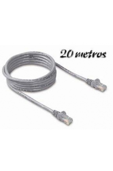 Cable Ethernet 20m Cat5e