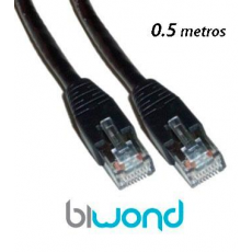 Cable Ethernet 0.5m Cat 6 BIWOND