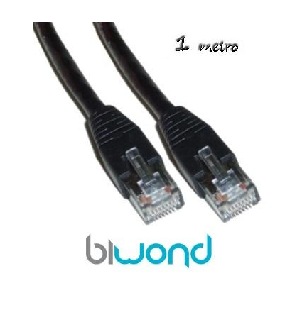 Cable Ethernet 1m Cat 5 BIWOND
