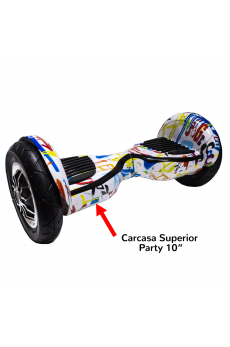 "Carcasa Superior Scooter Smart Balance 10"" Party"