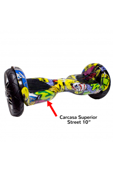 "Carcasa Superior Scooter Smart Balance 10"" Street"