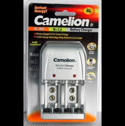 9V Camelion BC-904S Cargador de pared para pilas AA//AAA