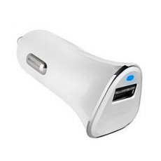 Cargador Coche USB Qualcom Quick Charge 3.0 Blanco