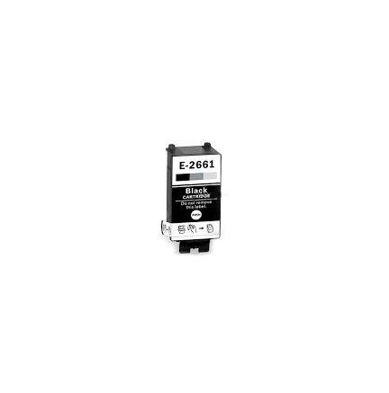 Cart. Epson T2661 Negro 9ml (reman.)