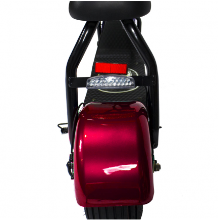 CityCoco MINI 800W/48V/12aH/Litio Rojo Gran-Scooter