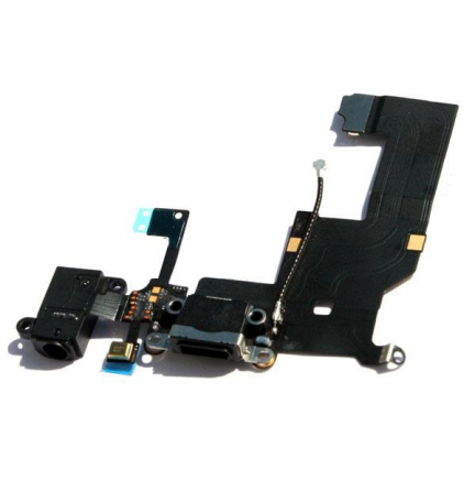 Conector Carga + Audio Flex iPhone 5
