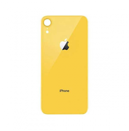 Carcasa Trasera iPhone XR Amarillo