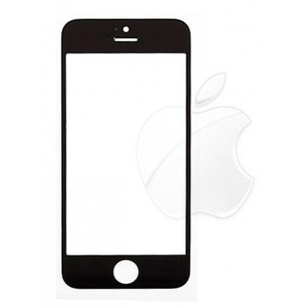 Cristal Frontal Negro iPhone 5