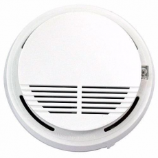 Security Detector de Humo Inalámbrico Alarma GSM Protect Blanco