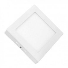 Downlight Cuadrado Sobre Pared LED 12W Luz Fría ELBAT