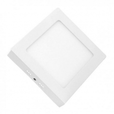 Downlight Cuadrado Sobre Pared LED 18W Luz Blanca ELBAT