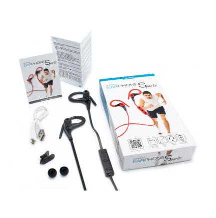 Running Earphones Sports Bluetooth + Micro Biwond Blanco