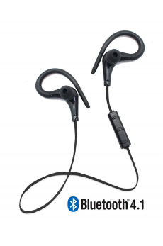 Running Earphones Sports Bluetooth + Micro Biwond Negro