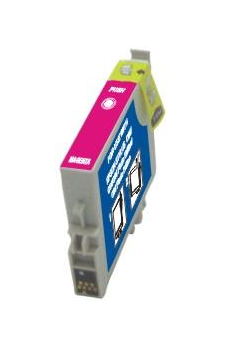 Cart. Epson T0443 Magenta 18ml (reman.)