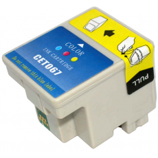 Cart. Epson T067 Tricolor 27ml (reman.)