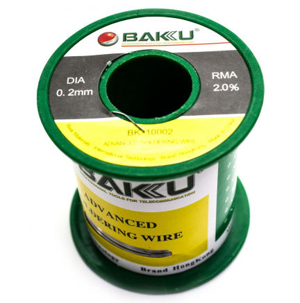 Estaño 0.2mm BAKU-10002 100G