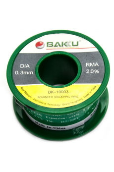 Estaño 0.3mm BAKU-10003 50G