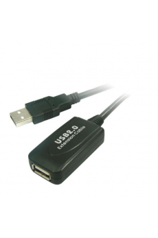 Cable USB 2.0 A/M-A/H Chipset 5m BIWOND