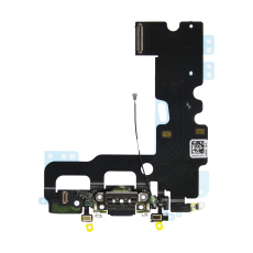 Flex Conector Carga Lightning Iphone 7 Negro