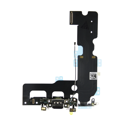 Flex Conector Carga Lightning Iphone 7 Plus Negro