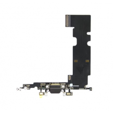 Flex Conector Carga Lightning Iphone 8 Plus Negro