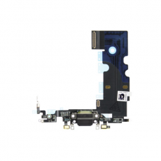 Flex Conector Carga Lightning Iphone 8 Negro