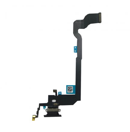 Flex Conector Carga Lightning Iphone X Negro