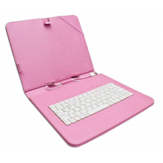 "Funda Tablet Teclado 7"" Rosa"