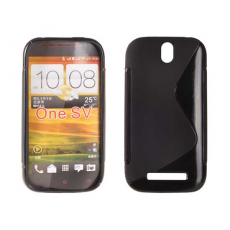 Funda Silicona Protect-S HTC ONE M8 Negra