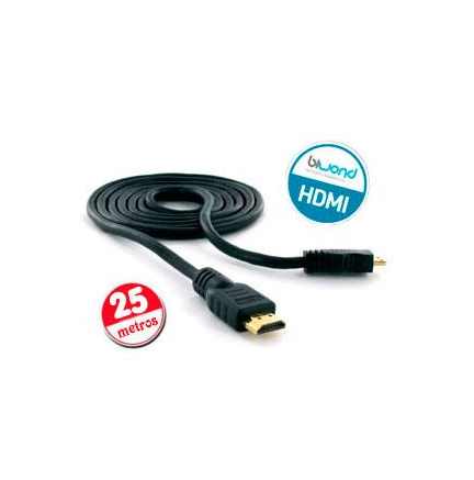 Cable HDMI v1.4 Biwond 25m (24AWG y booster)