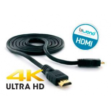 Cable Ultra HDMI 4K 1.5m Negro Biwond