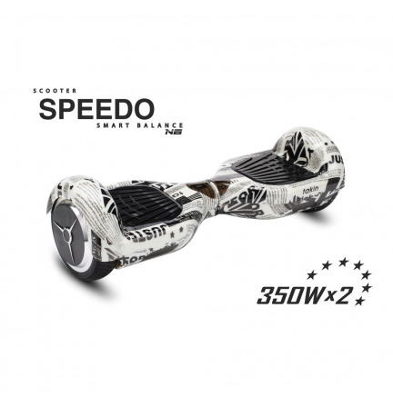 "Hoverboard Speedo 6.5"" Newspaper Bluetooth+Bolsa Transporte Patín Eléctrico"