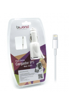 Cargador Coche Lightning iPhone/iPad  IOS 10 Biwond