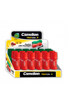 Expositor Linternas TravLite LED (24 pcs) Camelion