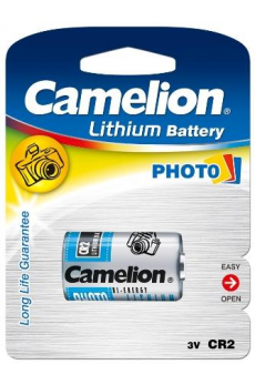 Litio CR2 3V (1 pcs) Camelion