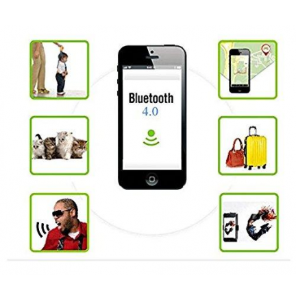 Llavero Bluetooth Alarma Anti-Perdida Blanco