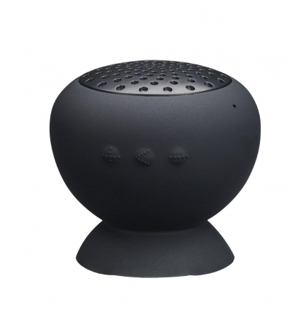Mini Altavoz+Ventosa Bluetooth Negro